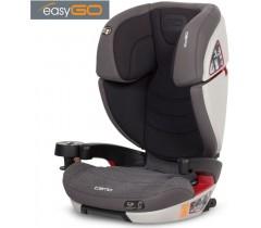EASYGO - Cadeira auto CAMO Carbon (grupo II+III, 15-36 kg) Carbon