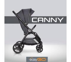 EASYGO - Carrinho de bebé CANNY Coal