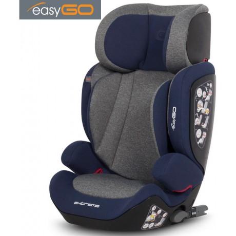 EASYGO - Cadeira auto EXTREME Navy (grupo II+III, 15-36 kg) Navy