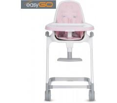 EASYGO - Cadeira da papa LINEA Powder Pink