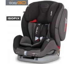 EASYGO - Cadeira auto NINO ISOFIX Carbon (grupo I+II+III, 9-36 kg) Carbon