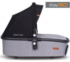 EASYGO - Alcofa OPTIMO AIR Grey Fox (Smart Fold)