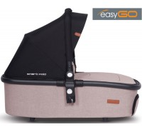 EASYGO - Alcofa OPTIMO AIR Sand (Smart Fold)