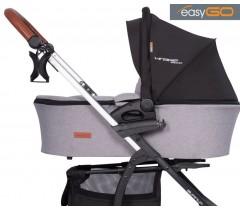 EASYGO - Alcofa VIRAGE ECCO Grey Fox