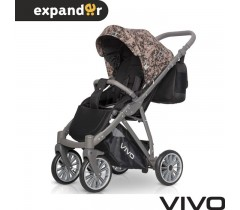 EXPANDER - Carrinho de bebé VIVO Beje