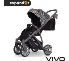 EXPANDER - Carrinho de bebé VIVO Carbon
