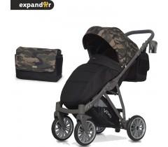EXPANDER - Carrinho de bebé VIVO Military Green