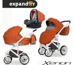 EXPANDER - Carrinho multifuncional XENON + KITE ISOFIX READY Copper