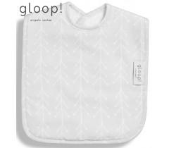 GLOOP - babete 40x25cm XL Nórdico Cinza