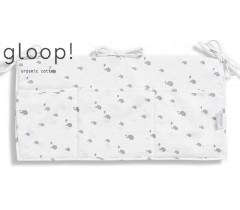 GLOOP - Organizador de Berço 30x60cm Elefantes