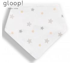 GLOOP - Babete 40x17cm Triangulo Estrelas