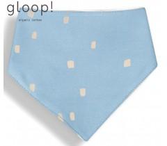GLOOP - Babete 40x17cm Triangulo City Blue