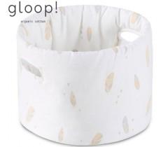 GLOOP - Cesta Tecido Bébé Penas