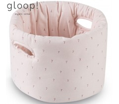 GLOOP - Cesta de Tecido Bebé Blush Rose