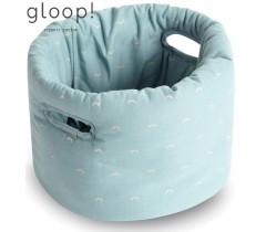 GLOOP - Cesta de Tecido Bebé Ocean Green