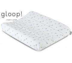 GLOOP - Capa Muda fraldas 65x50cm Elefantes