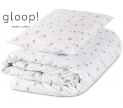 GLOOP - Pack capa + Edredon 100x140 cm Elefantes