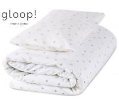 GLOOP - Pack capa + Edredon 100x140 cm Estrelas