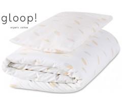 GLOOP - Pack capa + Edredon 100x140 cm Penas