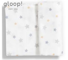 GLOOP - Fralda Tradicional 70x70cm Estrelas