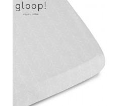GLOOP - Lençol Ajustável Nórdico Cinza 60X120 cm
