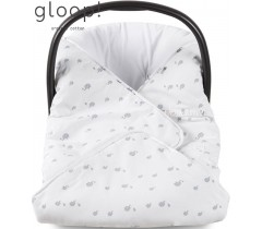GLOOP - Manta para ovo Elefantes 100x100cm
