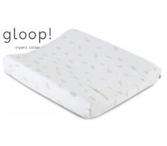 GLOOP - Muda fraldas 65x50cm completo Penas