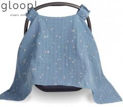 GLOOP - Protetor para ovo 100x100 City Blue