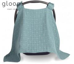 GLOOP - Protetor para ovo 100x100 Ocean Green