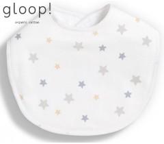 GLOOP - Pack 2 babetes 30x23cm Estrelas