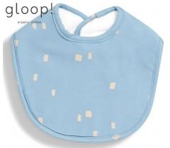 GLOOP - Pack 2 babetes 30x23cm City Blue