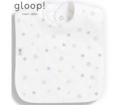 GLOOP - Pack de 2 babetes 40x25cm XL Estrelas