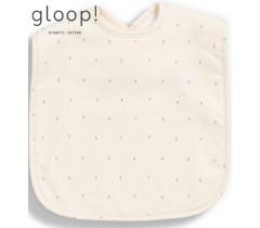 GLOOP - Pack de 2 babetes 40x25cm XL Little Stripes