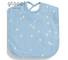 GLOOP - Pack de 2 babetes 40x25cm XL City Blue