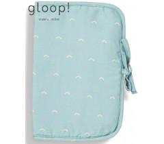 GLOOP - Porta Documentos Ocean Green