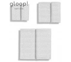 GLOOP - Pack 3 fraldas (3 Tamanhos) Nórdico Cinza