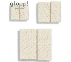 GLOOP - Pack 3 fraldas (3 Tamanhos) Natural