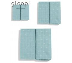 GLOOP - Pack 3 fraldas (3 Tamanhos) Ocean Green