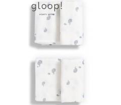 GLOOP - Pack 2 fraldas 50x50cm Elefantes