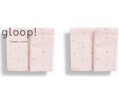 GLOOP - Pack 2 fraldas 50x50cm Pink pastel