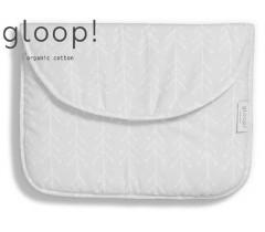 GLOOP - Saco de Primeira Roupa 40x30 Nórdico Cinza