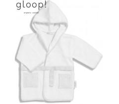 GLOOP - Robe de banho Nórdico Cinza 0-12 meses