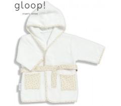 GLOOP - Robe de banho Natural 0-12 meses