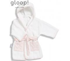 GLOOP - Robe de banho Blush Rose 0-12 meses