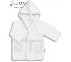 GLOOP - Robe de banho Nórdico Cinza 12-24 meses