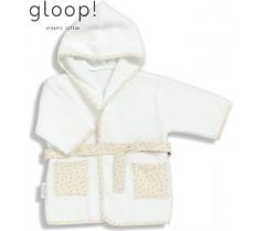 GLOOP - Robe de banho Natural 12-24 meses