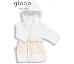 GLOOP - Robe de banho Little Strpes 12-24 meses