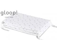 GLOOP - Resguardo de cama 190x35cm Elefantes