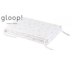 GLOOP - Resguardo de cama 190x35cm Penas