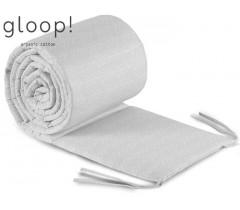 GLOOP - Resguardo de cama Nórdico Cinza 360x30cm